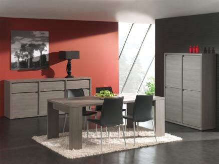 meuble, repas, contemporain